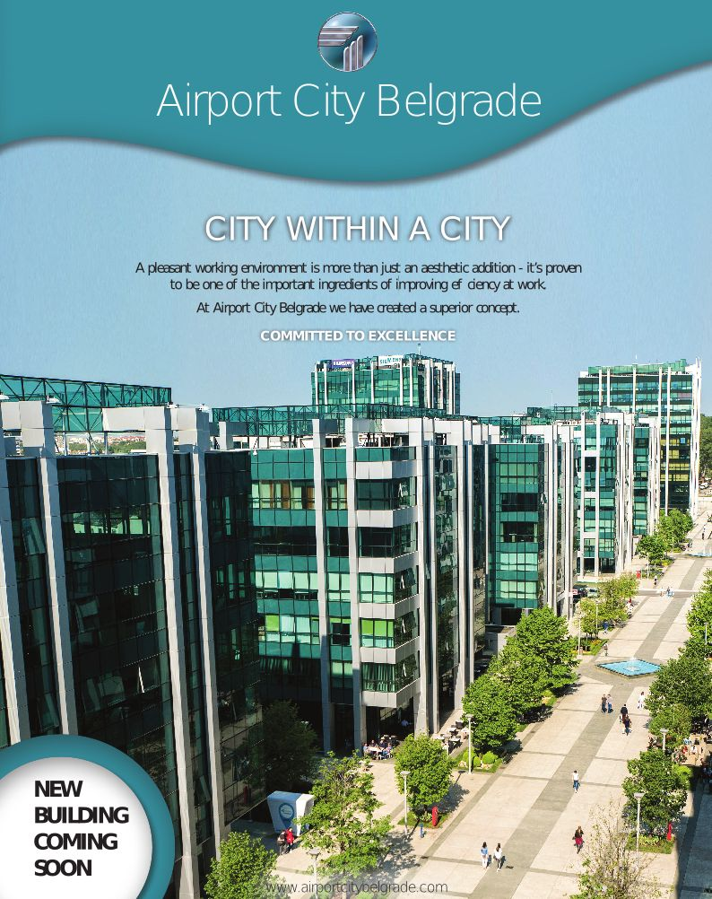 About Airport City Belgrade
